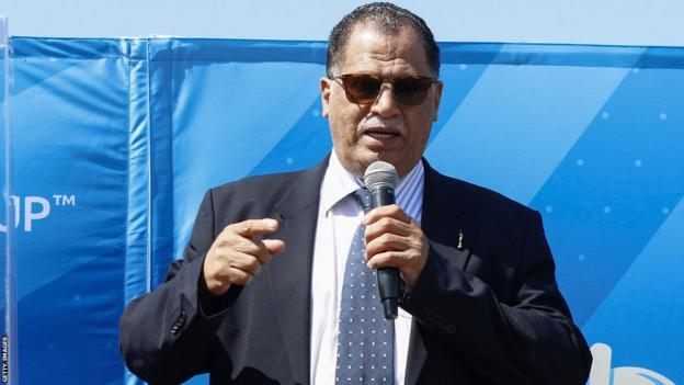 The President of the South African Football Association, Danny Jordaan