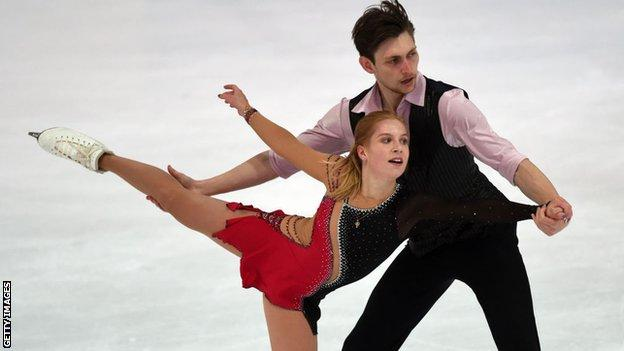 Harley Windsor (right) and Ekaterina Alexandrovskaya
