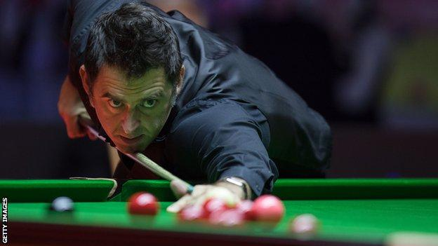 Ronnie O'Sullivan is through to the third round at the UK Championships