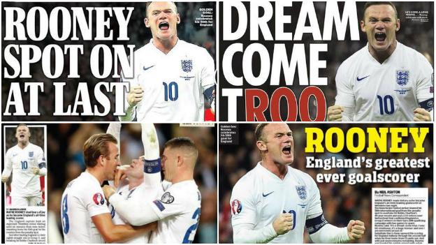 Back pages