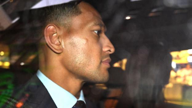 Israel Folau found guilty of breaching Rugby Australia's code of conduct thumbnail