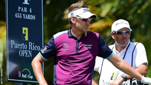 Ian Poulter carded one bogey, one birdie and 16 pars in the final round