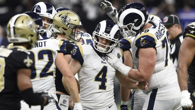 Super Bowl LIII: LA Rams beat New Orleans Saints in overtime to reach Atlanta showpiece thumbnail