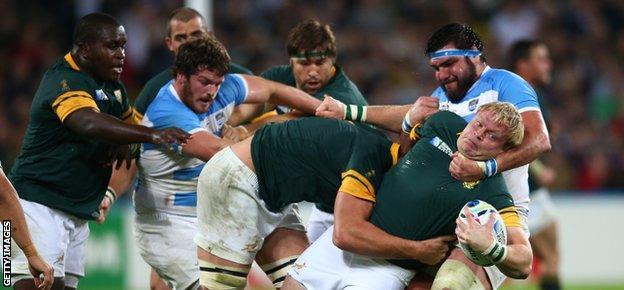 Argentina v South Africa