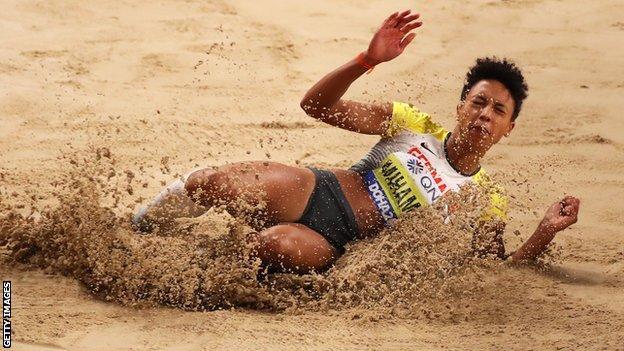 science Malaika Mihambo competes at Doha 2019