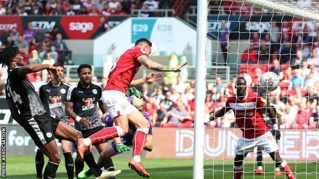 Bristol City midfielder Josh Brownhill's sixth goal of the season was his second in three games