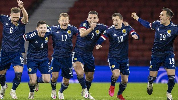 Scotland set up a Euro 2020 play-off final in Serbia by ending past Israel on penalties on Thursday