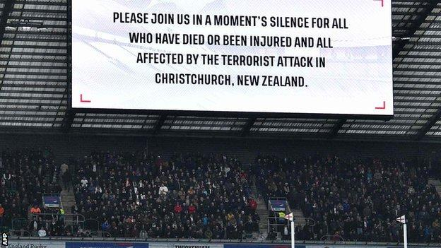 Christchurch mosque shootings: England to pay tribute to New Zealand victims
