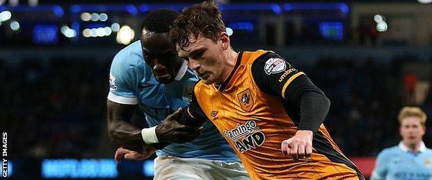 Hull City full-back Andrew Robertston