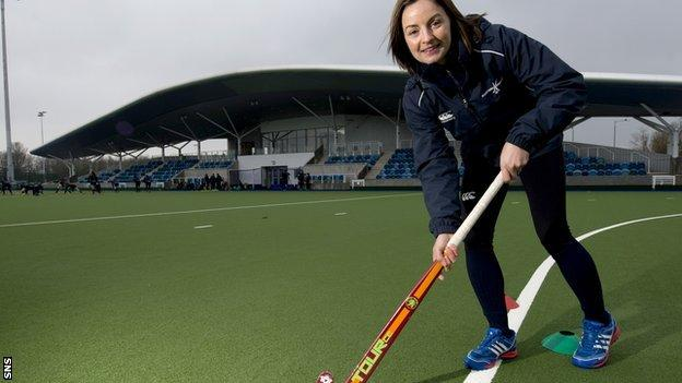 Scotland women's hockey captain Linda Clement
