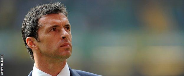 Gary Speed pictured in 2011