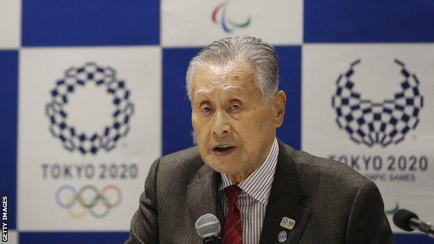 Tokyo 2020 Olympics president Yoshiro Mori