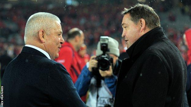 Wales coach Warren Gatland and New Zealand coach Steve Hansen will both end their tenures after Friday's third place play-off