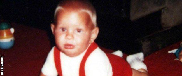 Baby Jenson Button