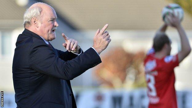 Ronnie McFall has quit after almost 30 years as Portadown manager