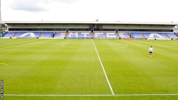 Moss Rose, home of Macclesfield Town