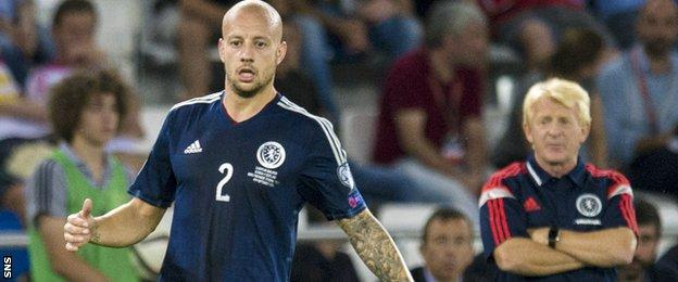 Few players are emerging to challenge Alan Hutton for his right-back berth