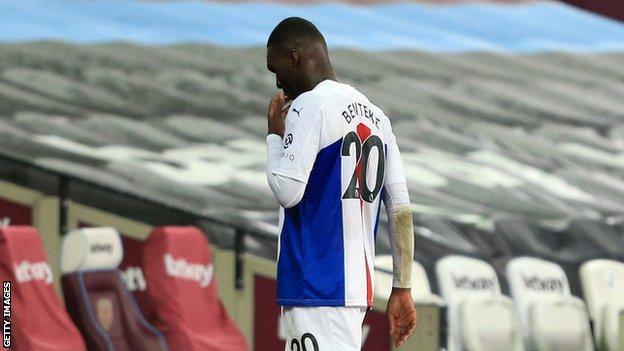 Crystal Palace forward Christian Benteke