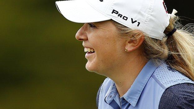 LPGA Mediheal Championship: Bronte Law beaten in play-off by Sei Young Kim thumbnail
