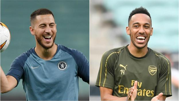 Chelsea v Arsenal: English rivals keen to bring Europa League trophy home