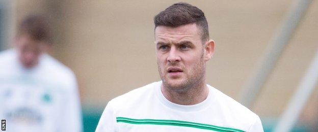 Celtic forward Anthony Stokes