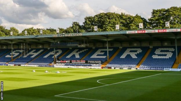 Bury were meant to get their League One campaign under way at MK Dons on Saturday prior to the fixture's suspension earlier this week
