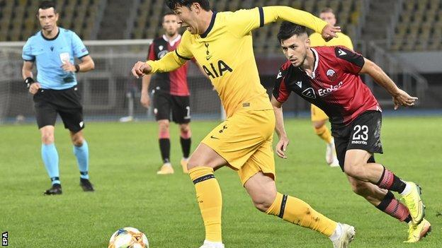 Europa League Report (2020): Tottenham advance to Europa League play-off after scare