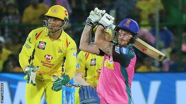 England cricketer Ben Stokes in action in the Indian Premier League