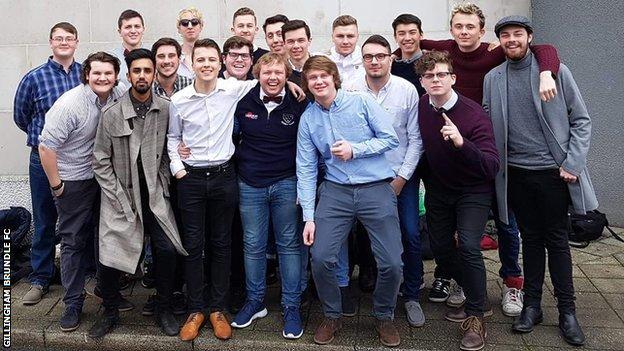 Gillingham Brundle FC team pic