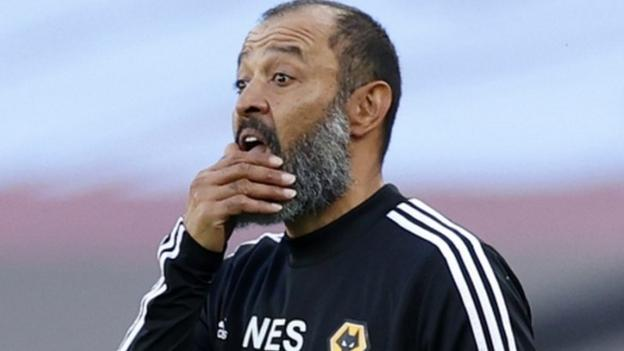Nuno Espirito Santo: Wolves manager says Black Lives Matter movement is 'beginning of something' thumbnail