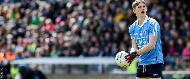Con O'Callaghan scored the opening point with a free for Dublin