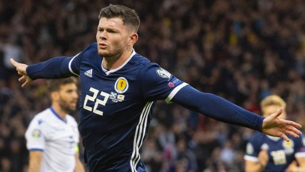 Scotland 2-1 Cyprus: Steve Clarke's reign starts with victory after Oliver Burke winner thumbnail