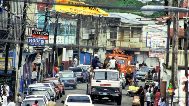 Port Antonio where Dillian grew up in Jamaica