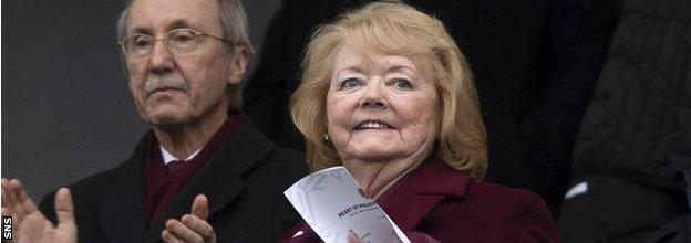 Will Hearts saviour and chair Ann Budge still have a role at the club when she hands power to fans?