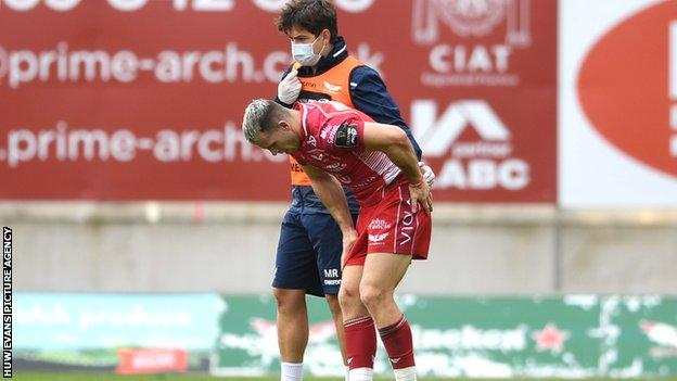 Scarlets scrum-half Gareth Davies has played 53 Tests for Wales