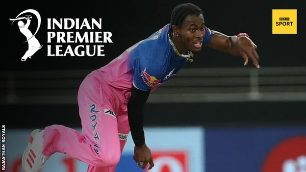 England and Rajasthan Royals fast bowler Jofra Archer