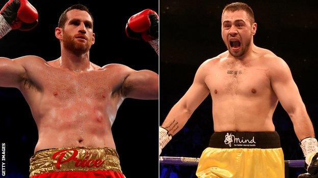 Price and Allen have both found a run of form going into their July bout