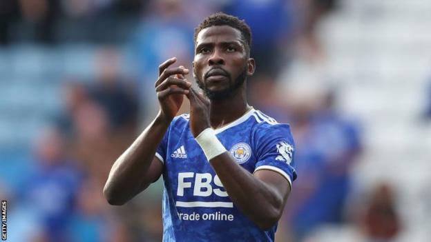 Leicester City and Nigeria striker Kelechi Iheanacho