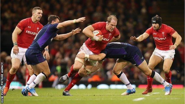 Wales last hosted Scotland in November 2018 at the Principality Stadium in Cardiff