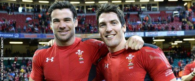 Mike Phillips and James Hook