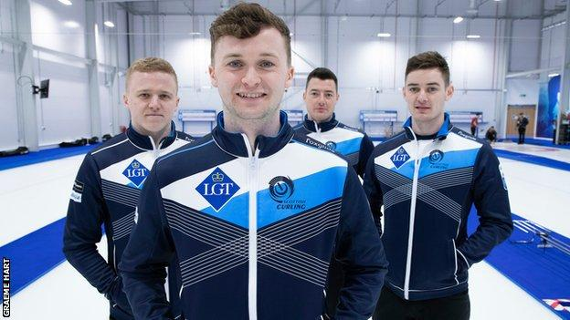 Skip Bruce Mouat and his rink will represent Scotland at the Euro championships in November