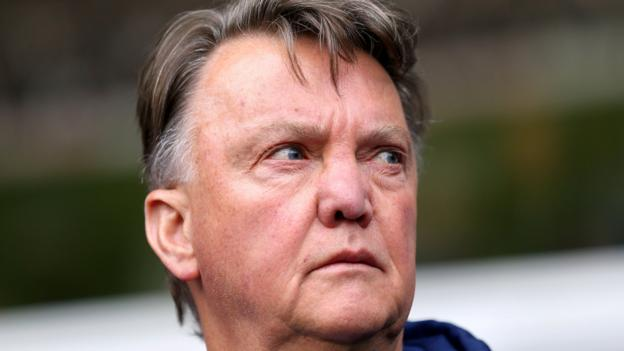Louis Van Gaal: Manchester United Manager In Bizarre Post