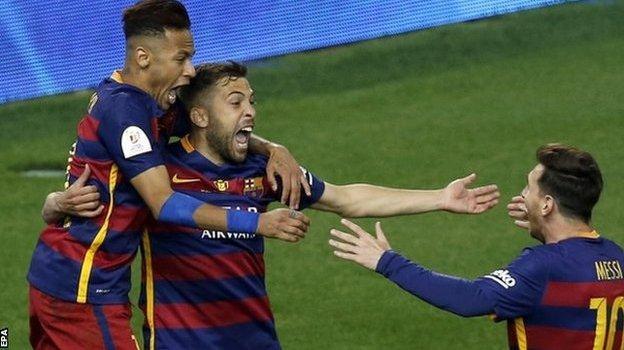 Barcelona 2 0 Sevilla Bbc Sport