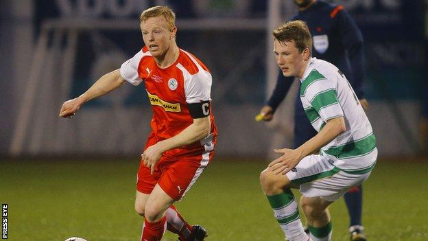 George McMullan was honoured with a well-attended testimonial against a Celtic XI last month