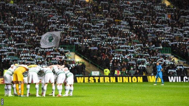 Celtic v Inter Milan