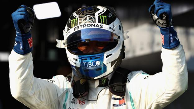 Valtteri Bottas wins Australian GP after Lewis Hamilton overtake thumbnail