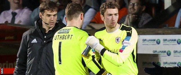 Conor Brennan replaces Kevin Cuthbert at Tannadice