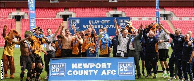Newport at Wembley