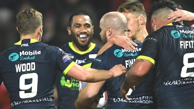 Super league hull kr 6 28 wakefield trinity bbc sport - English rugby union league tables ...