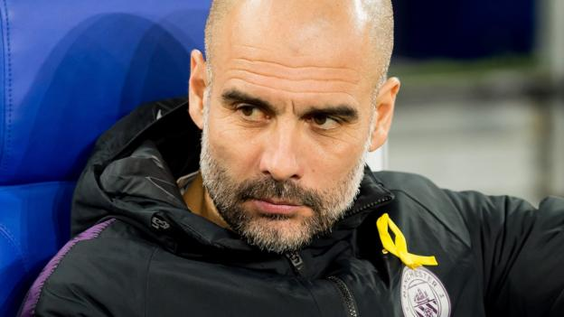Pep Guardiola: Man City boss sends 'best wishes' to fan injured in Schalke thumbnail